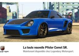 La Pfister Comet SR est désormais disponible sur GTA Online