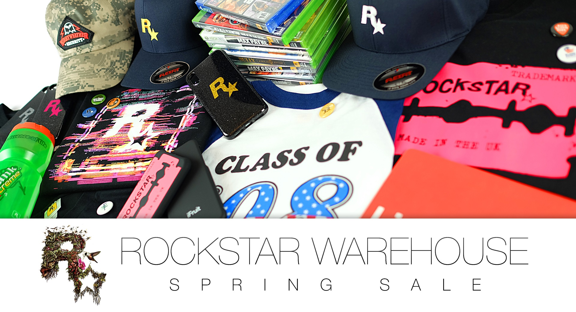Spring Sale du Rockstar Warehouse