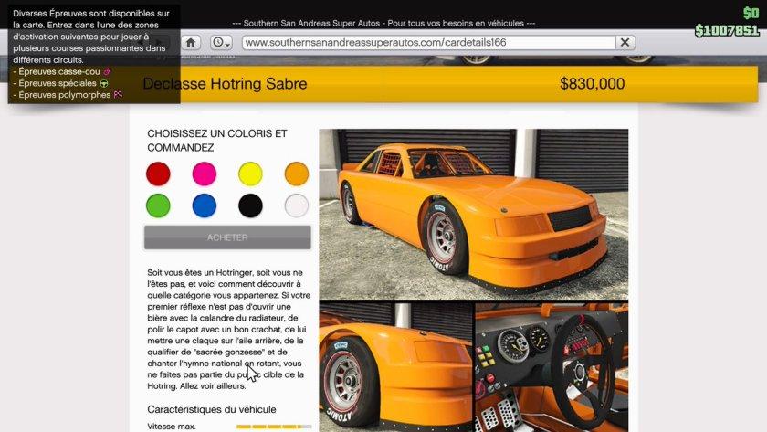 GTA Online San Andreas Super Sport Series - Hotring