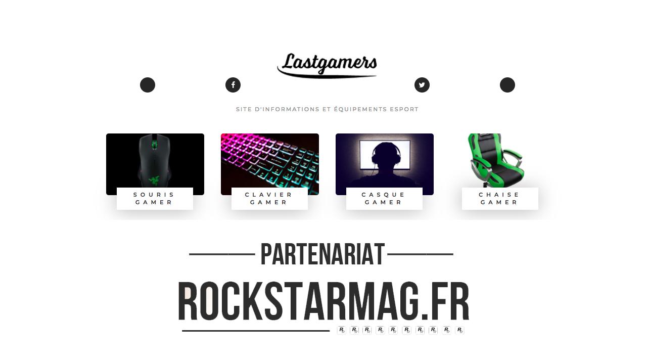 LastGamers nouveau partenaire Rockstar Mag