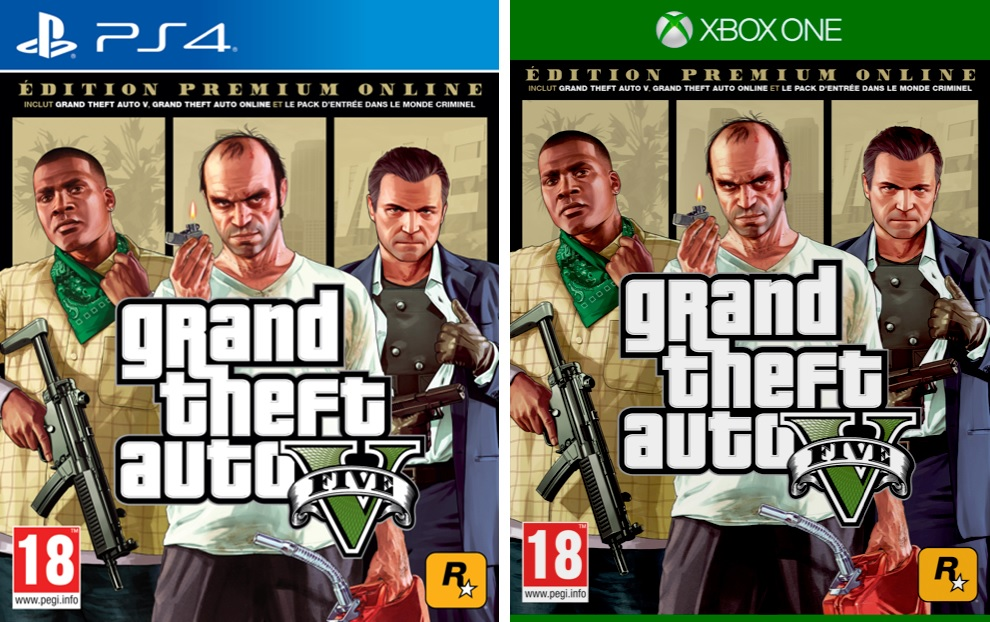 Grand Theft Auto V Premium Online Edition
