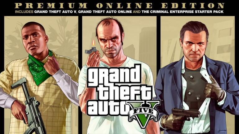 GTA V Premium Online Edition
