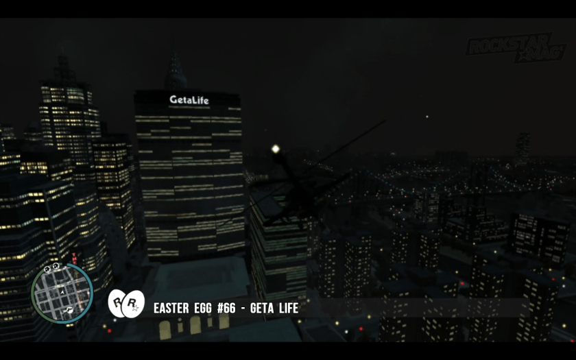 GTA IV - Easter Egg 66