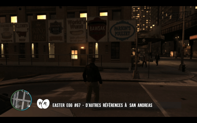 GTA IV - Easter Egg 67