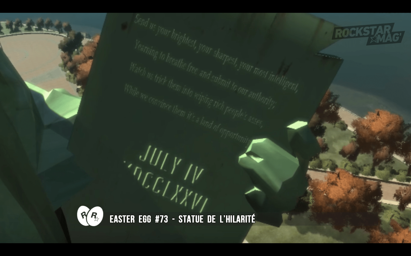 GTA IV - Easter Egg 73
