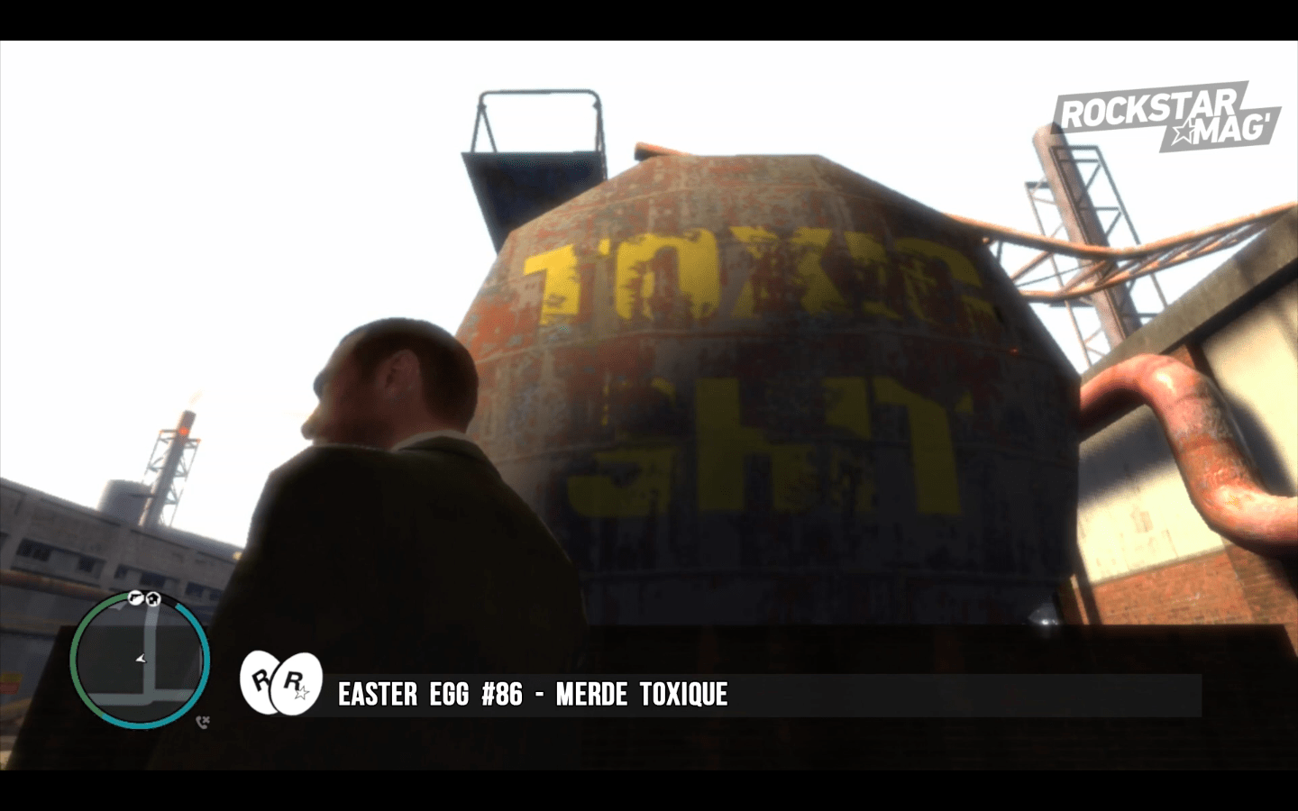 GTA IV - Easter Egg 86