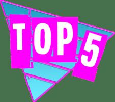 Logo Top 5 by Rockstar Mag