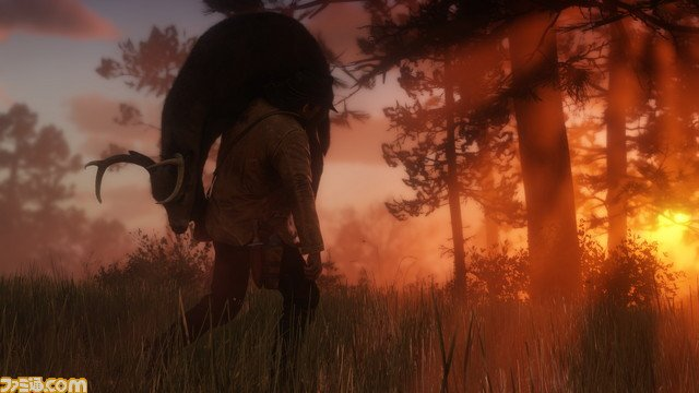 Red Dead Redemption II Nouvelles Images Famitsu