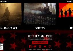 Le site officiel de Red Dead Redemption II est en ligne !