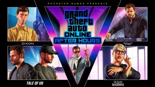 GTA Online Artwork After Hours - Nuits Blanches et Marché Noir