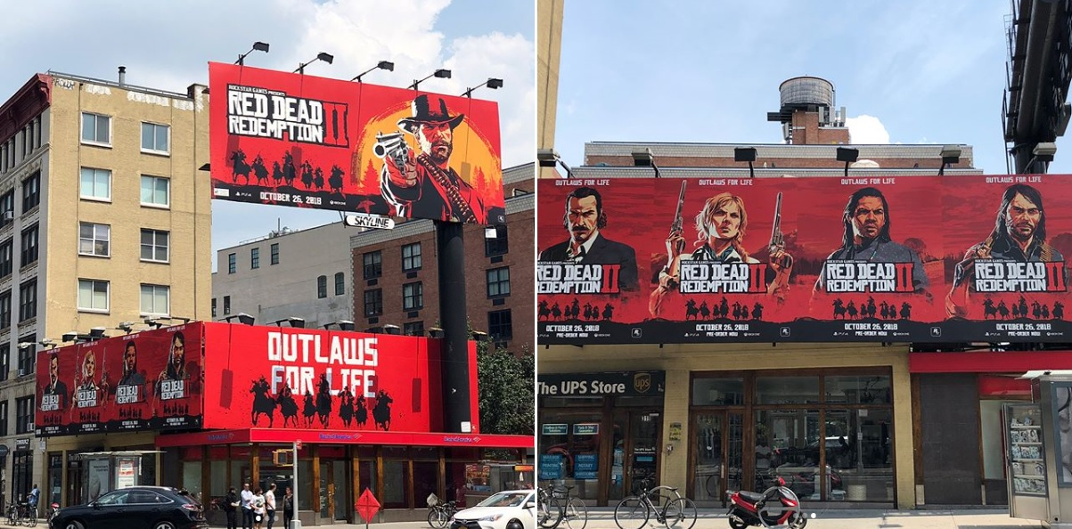 Campagne promotionelle Red Dead 2