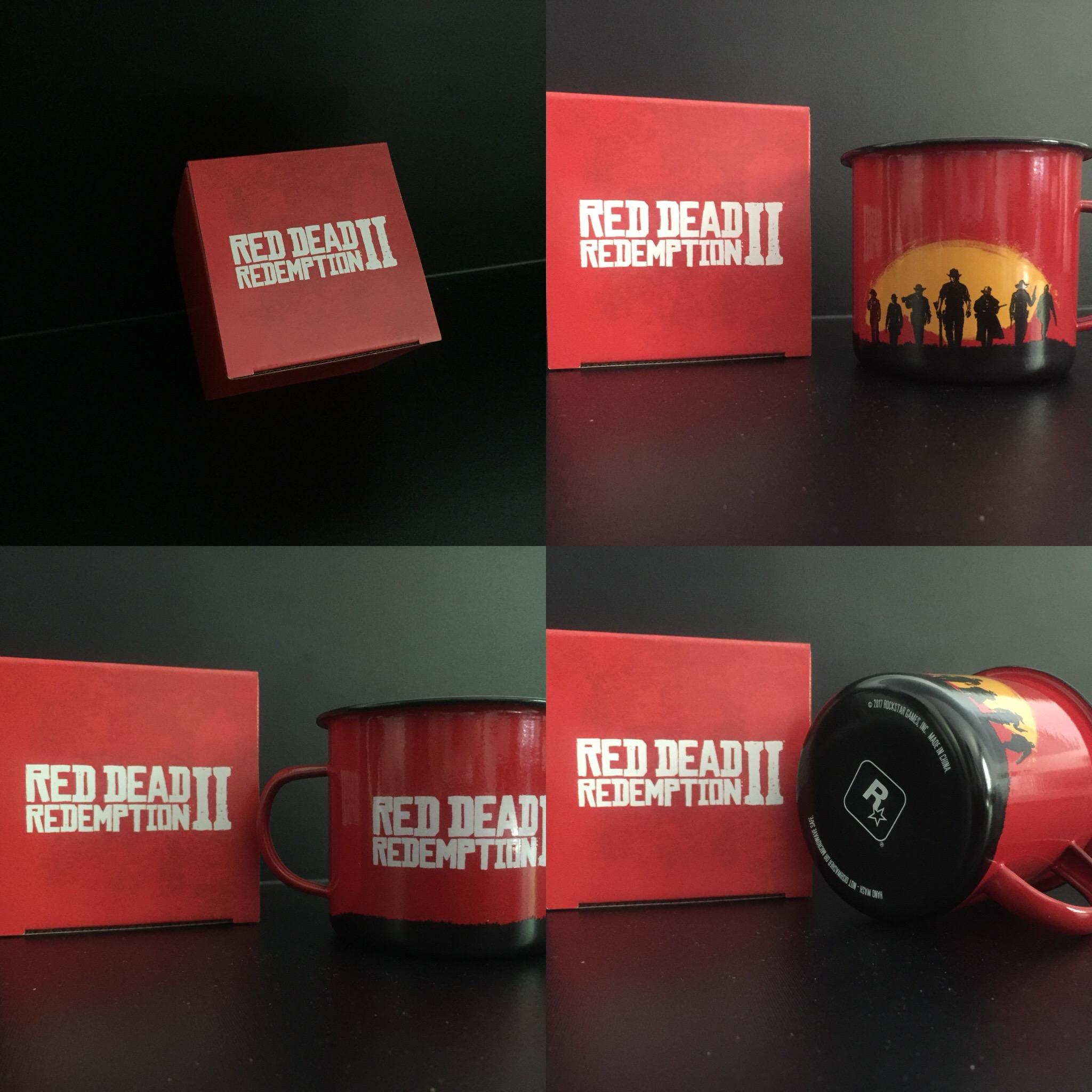 Colis Rockstar Games - Red Dead Redemption II - Mug