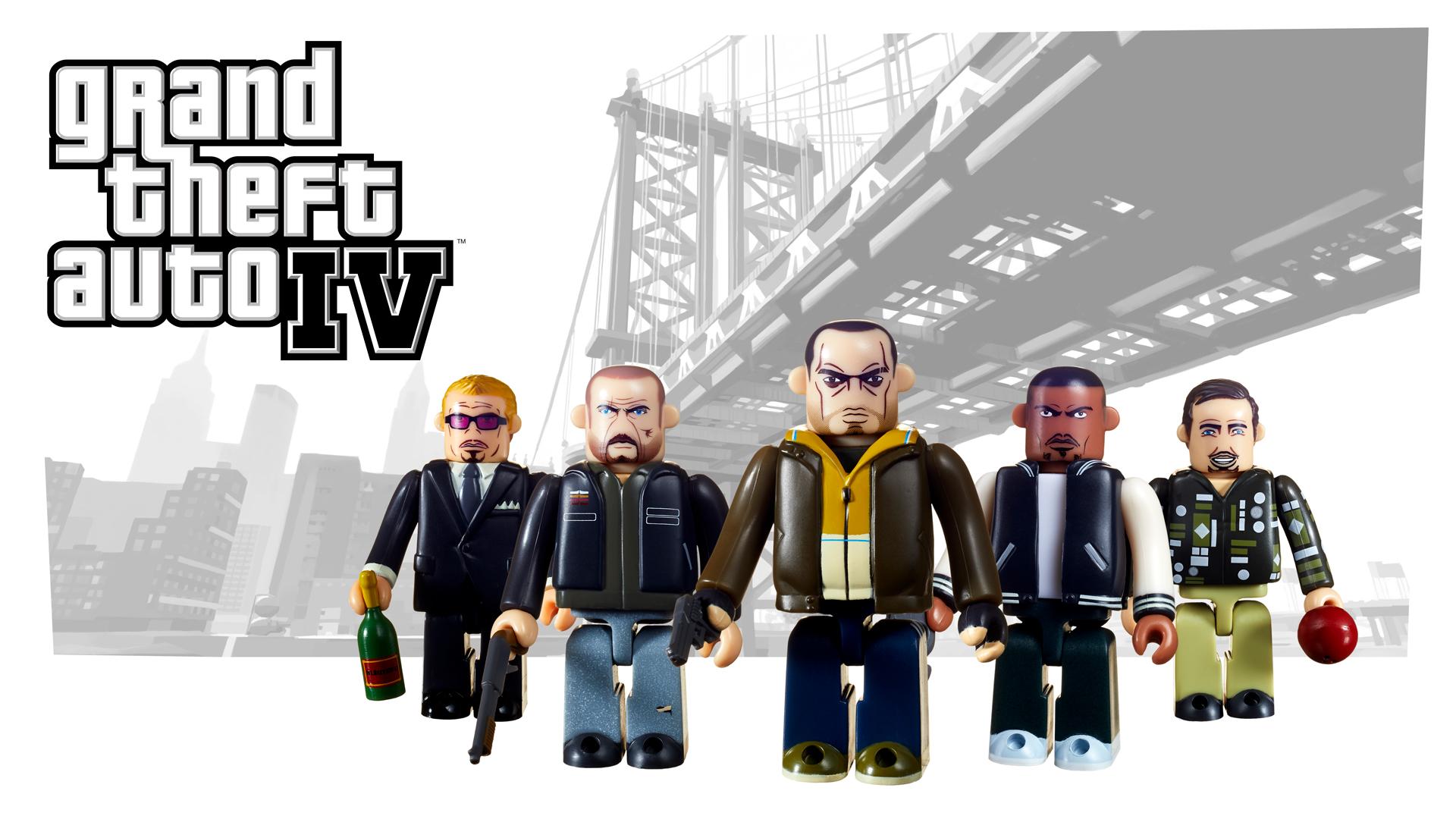 Kubricks Grand Theft Auto IV