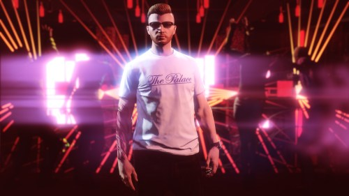 T-shirt The Palace dans GTA Online