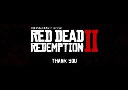 Rockstar Games remercie tous les employés ayant oeuvré sur Red Dead Redemption II