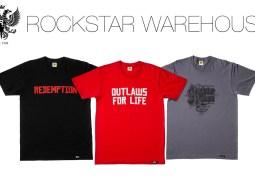 Les premiers T-shirts Red Dead Redemption II débarquent sur le Rockstar Warehouse