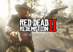 La liste des trophées de Red Dead Redemption II a leaké