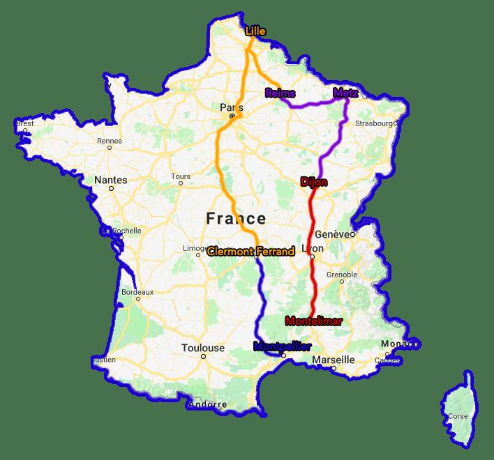 Trajet Tour de France TousGamers 04