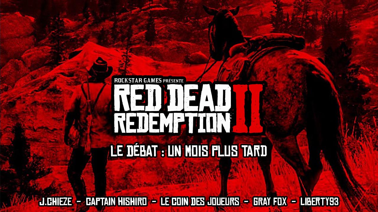 Red Dead Redemption II - Débat Un Mois Plus Tard