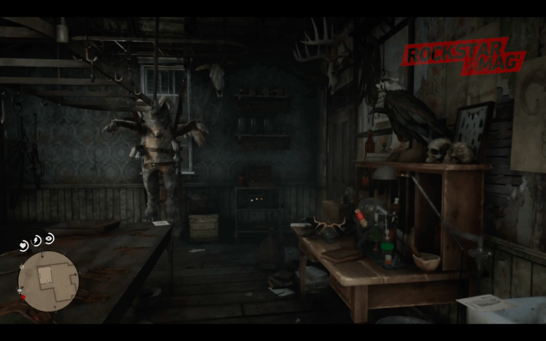Mystere Red Dead Redemption II - Maison Mutant
