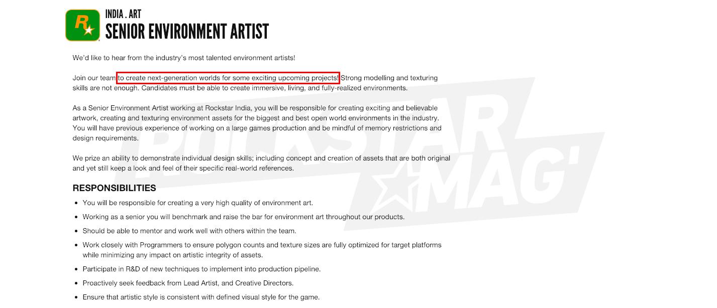 Offre Emploi Rockstar India