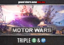 Semaine triple bonus dans GTA Online Motor Wars !