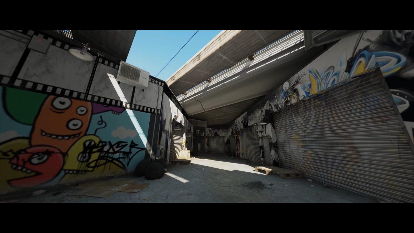 Le ray tracing via ReShade sur GTA V, dans une rue de Los Santos