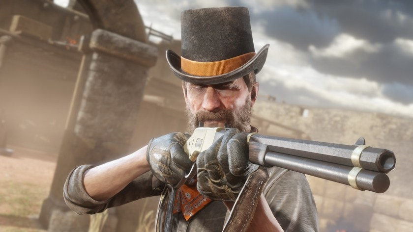 Red Dead Online fusil