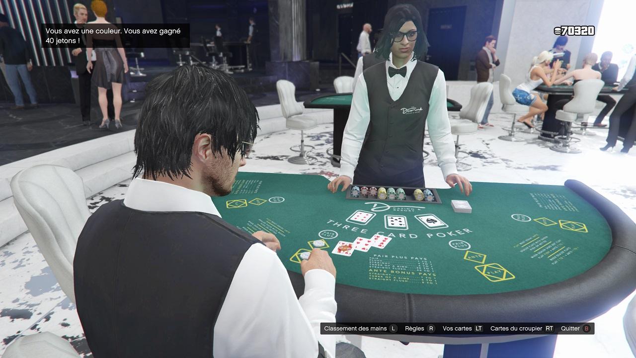 Poker à trois cartes