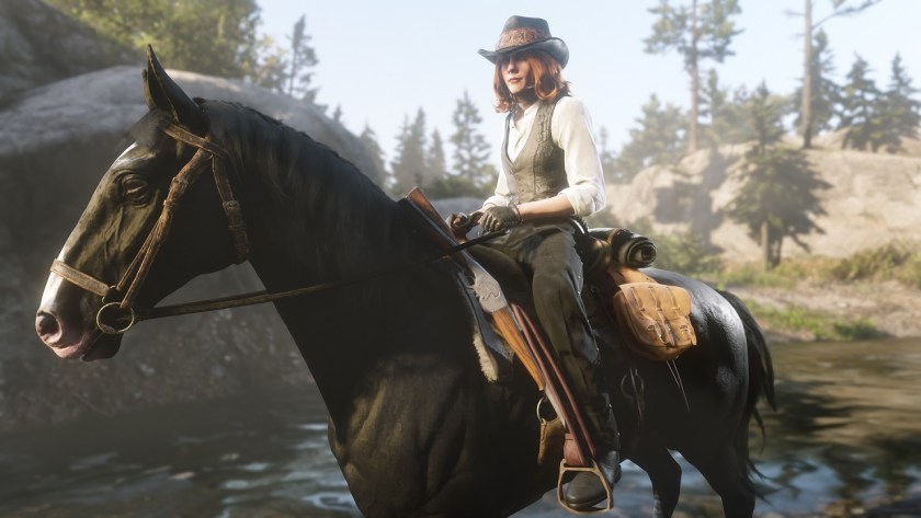 Red Dead Online joueuse