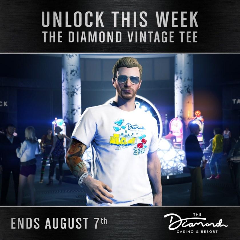 t-shirt Diamond vintage