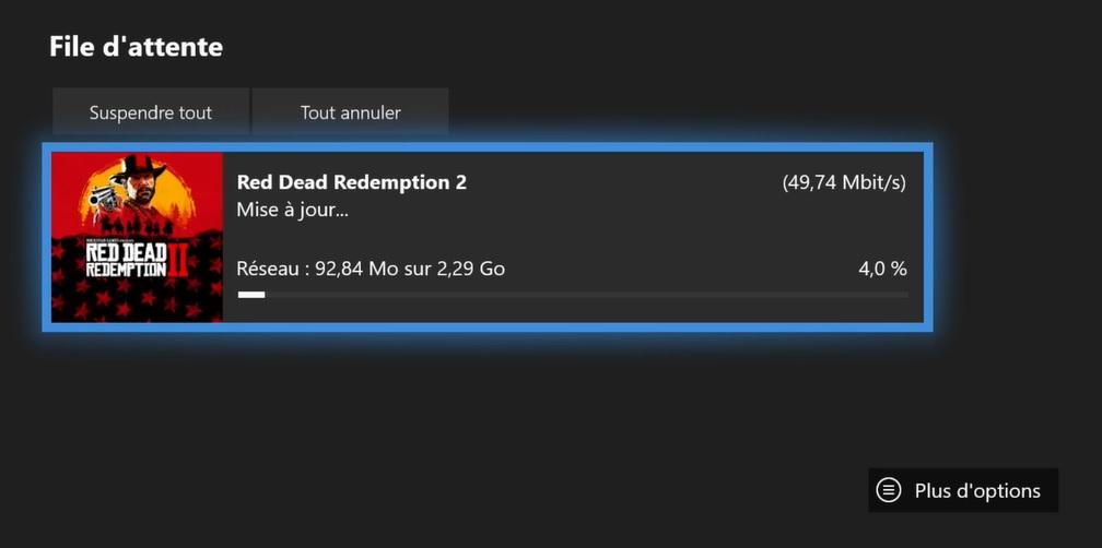 MAJ Red Dead Online