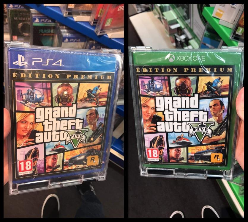 jaquettes GTA V Edition Premium
