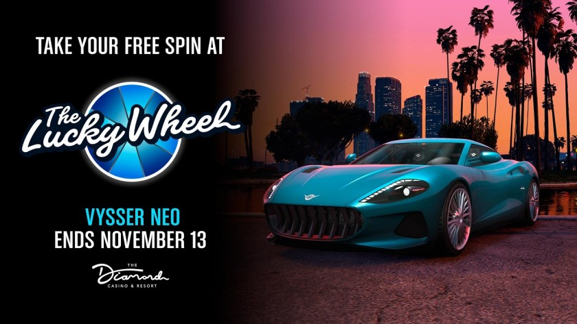 Vysser Neo Lucky Wheel