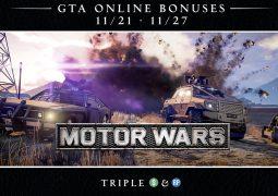 Semaine spéciale Guerre Motorisée sur GTA Online avec triple bonus !