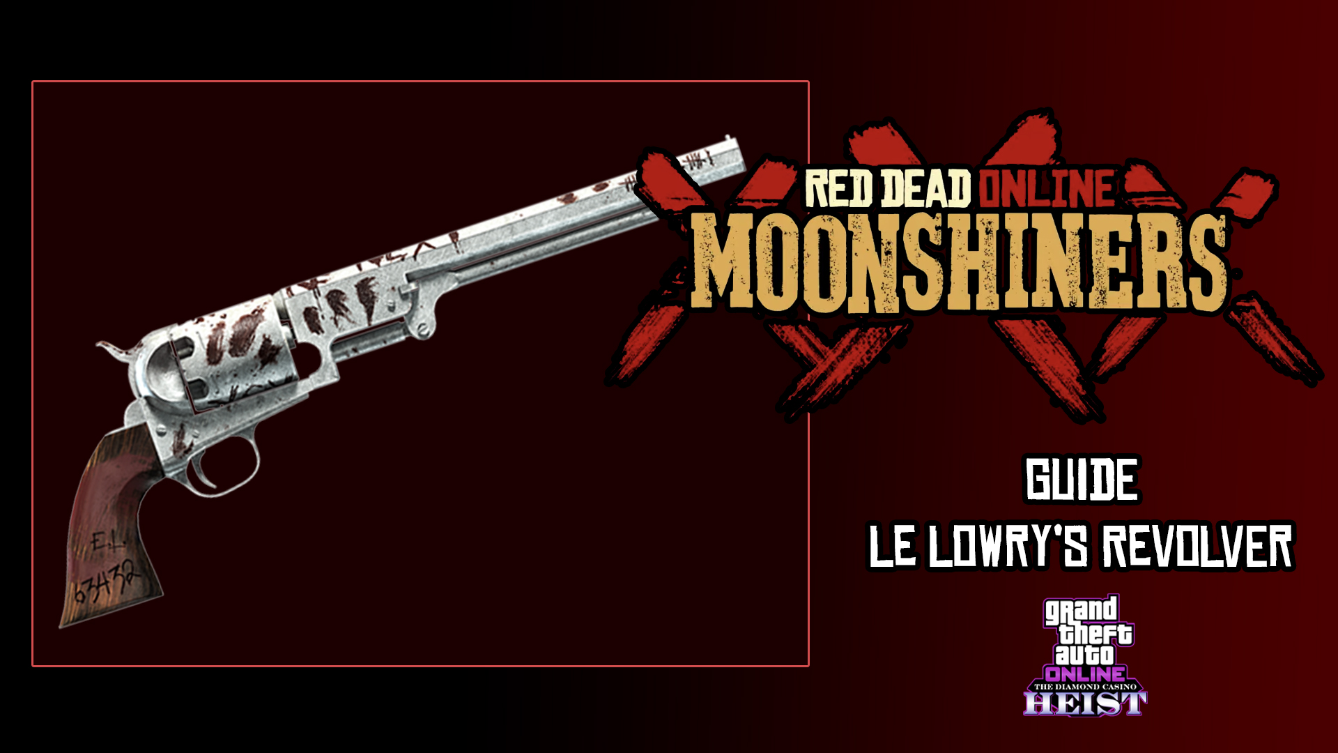 Red Dead Online Guide Lowry's Revolver