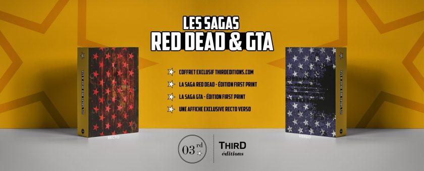 Coffret la saga GTA et Red Dead