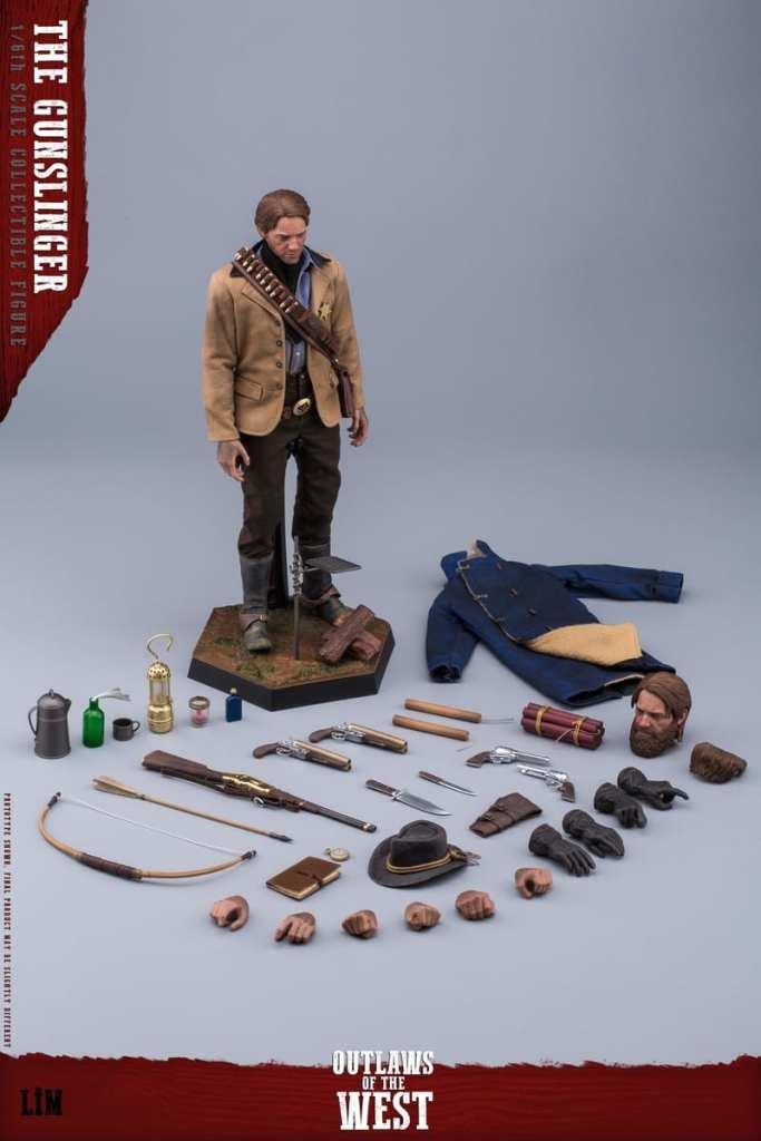 Figurine Gunslinger Red Dead Redemption II (7)