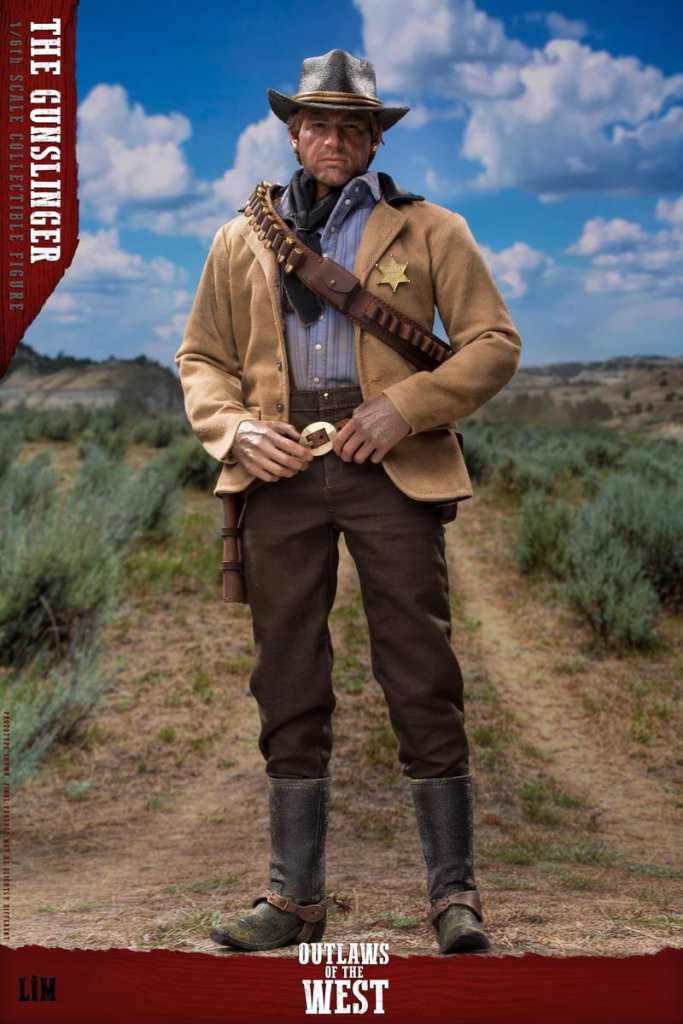 Figurine Gunslinger Red Dead Redemption II (6)