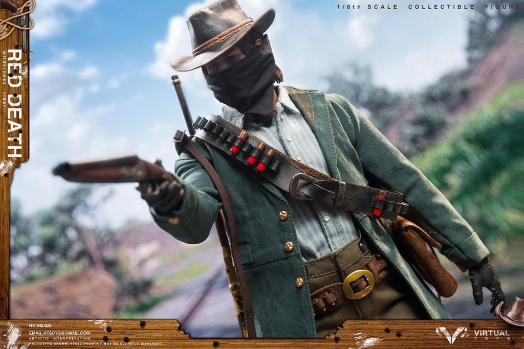 Figurine Wilderness Rider Red Dead Redemption II (6)