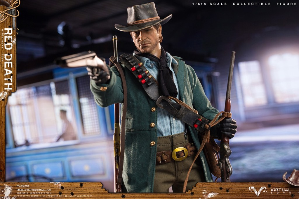 Figurine Wilderness Rider Red Dead Redemption II (1)