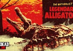 Les alligators légendaires Teca et doré débarquent sur Red Dead Online !