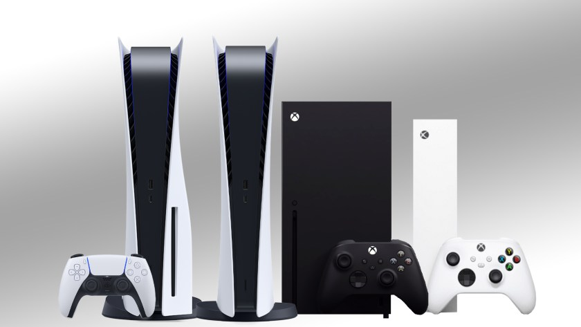 Consoles Next-Gen PS5 Digital Edition, PlayStation 5, Xbox Series X, Xbox Series S