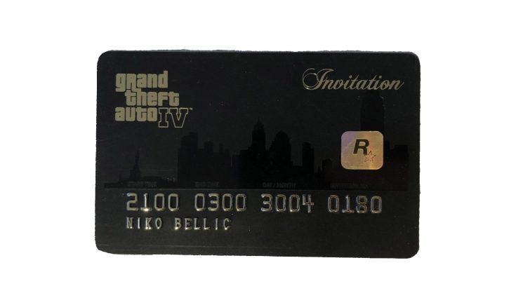 Carte d'invitation de GTA IV, goodie préféré de Yan2295