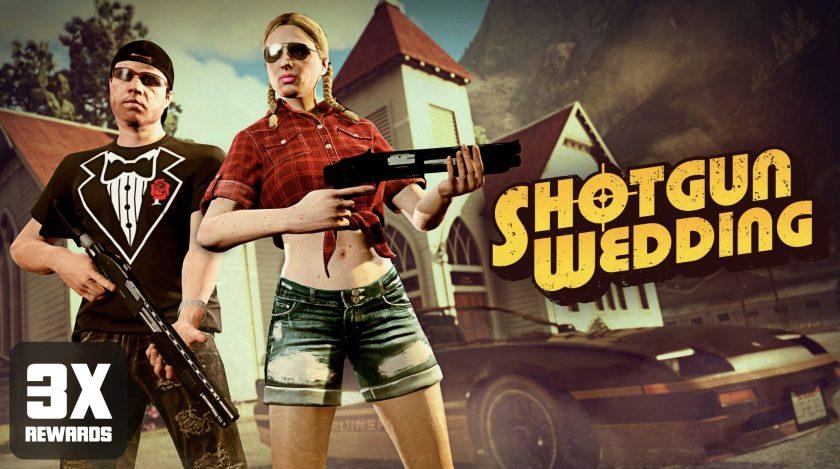 GTA Online Bonus Mariage Shotgun