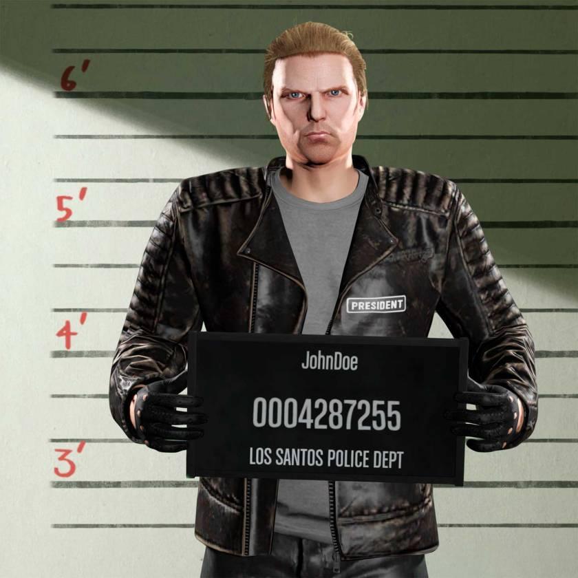 John Doe dans Les bikers sur GTA Online
