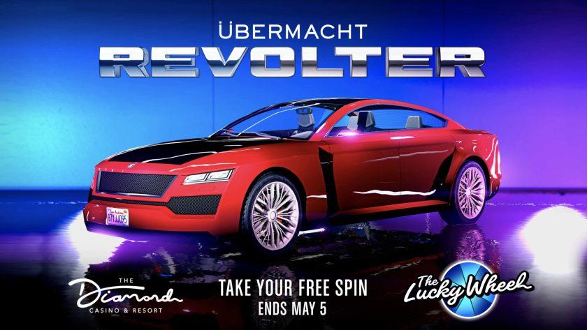 Sur le podium cette semaine: Übermacht Revolter dans GTA Online