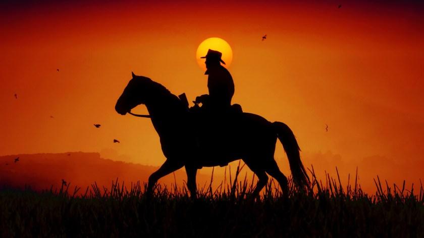 Couché de soleil dans Red Dead Redemption II