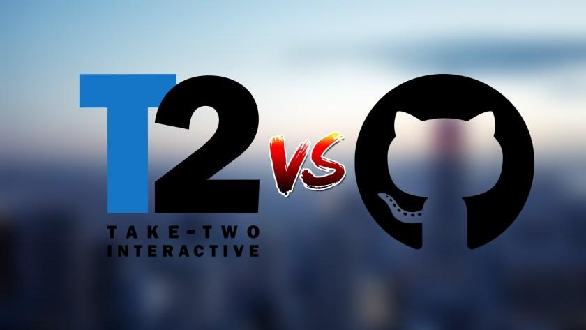 Take-Two contre GitHub