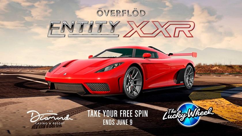 Entity XXR Podium GTA Online